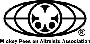 Mickey Pees On Altruists Association logo