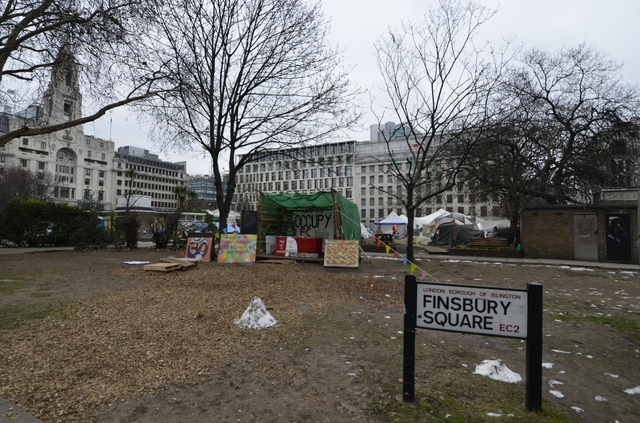 Occupy Finsbury Square