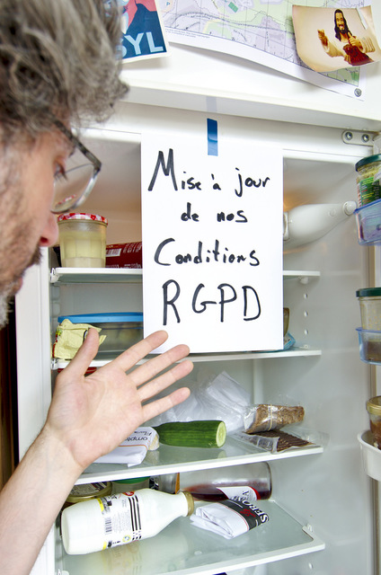 Mise à jour de nos conditions - RGPD