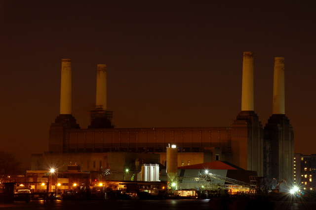 a battersea power station