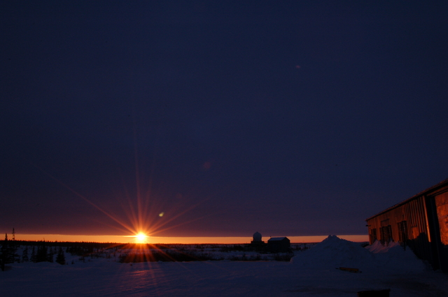subarctic sundown