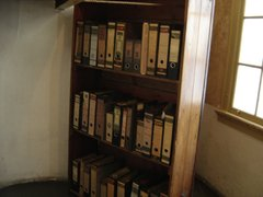 Bookshelf used to hide Anne Frank and her family
