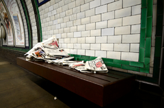 Where newspapers go to die