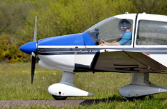 Me about to fly !!