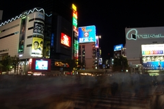 shibuya crossing..!